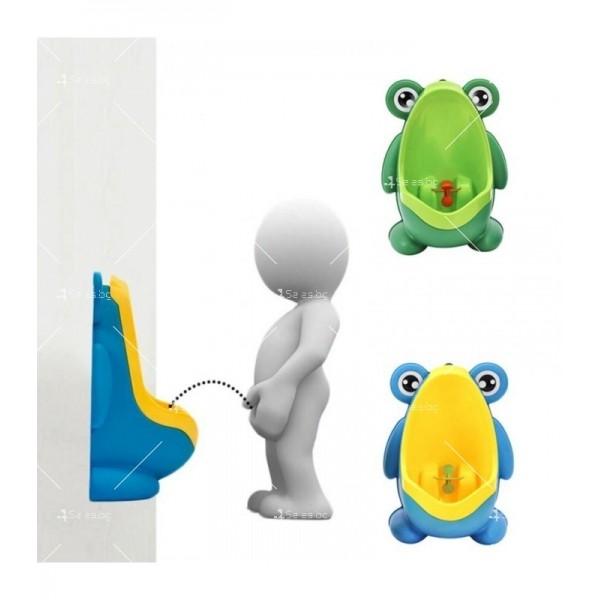 Писоар за деца под формата на жабка TV300 1