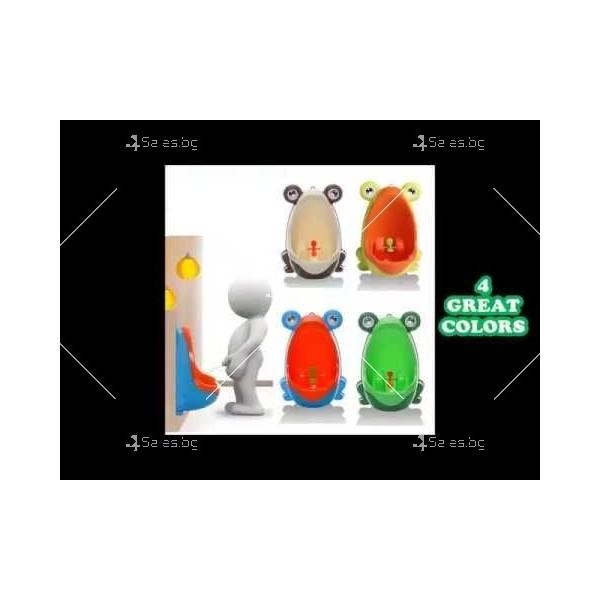 Писоар за деца под формата на жабка TV300 6