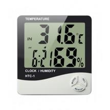 Часовник 3 в 1, термометър и влагометър TV173