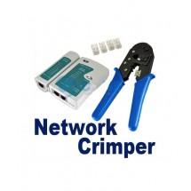 Клещи за кримпване на LAN кабели RJ45 TV241