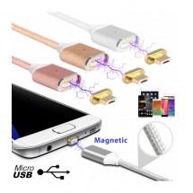 USB микро магнитен кабел за зареждане на телефон
