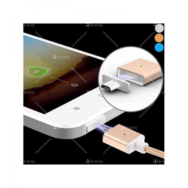 USB микро магнитен кабел за зареждане на телефон CA13 2