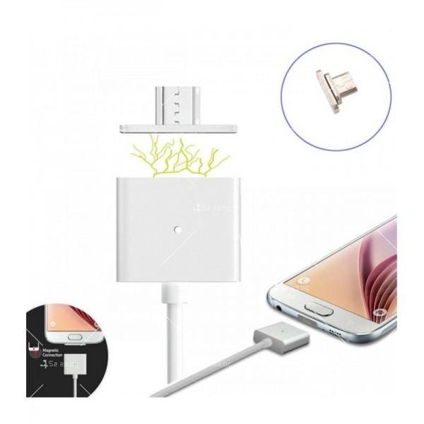 USB микро магнитен кабел за зареждане на телефон CA13 4