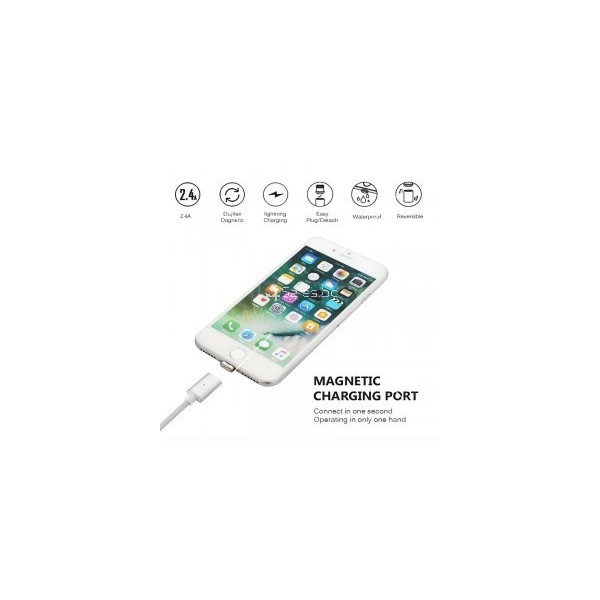USB микро магнитен кабел за зареждане на телефон CA13 5
