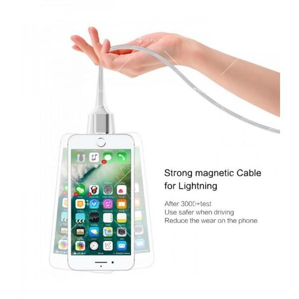 USB микро магнитен кабел за зареждане на телефон CA13 7