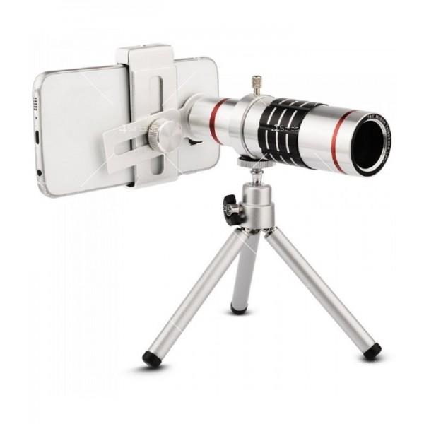 Универсален телескоп за телефон или таблет с увеличение 18х TV227 3