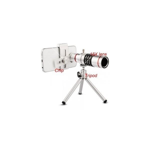 Универсален телескоп за телефон или таблет с увеличение 18х TV227 8