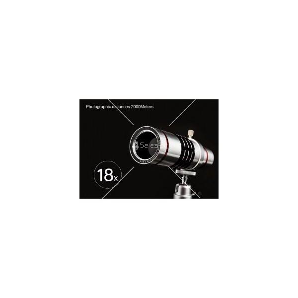 Универсален телескоп за телефон или таблет с увеличение 18х TV227 9