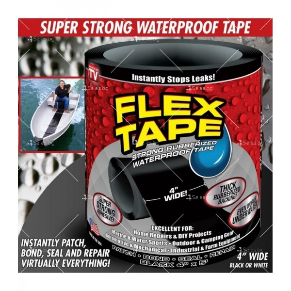 Здраво водоустойчиво тиксо Flex tape TV351 10