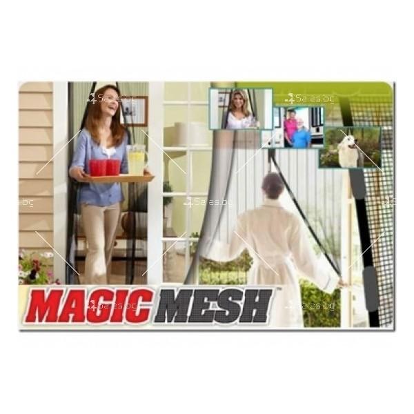 Мрежа против насекоми Magic Mesh с магнитно закопчаване TV204 5