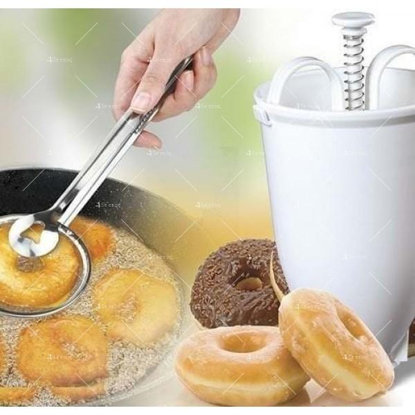 Уред - шприц за понички Donut Maker TV181 7