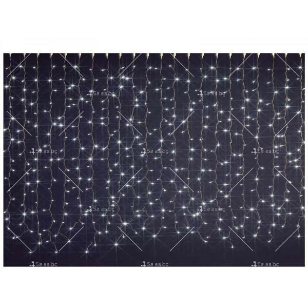 Коледна украса - светеща завеса TV235 2
