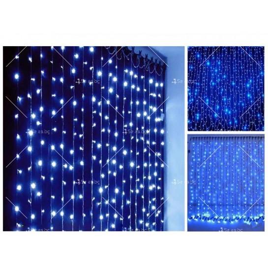 Коледна украса - светеща завеса TV235