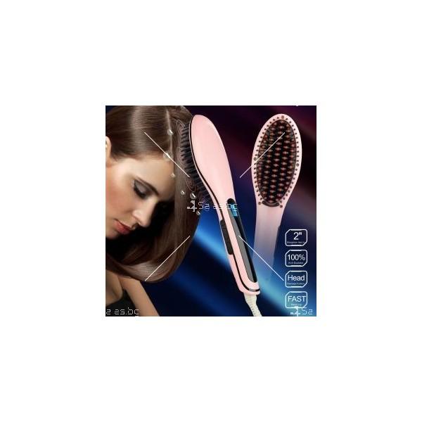 Четка за изправяне на коса Luxury TV10 9