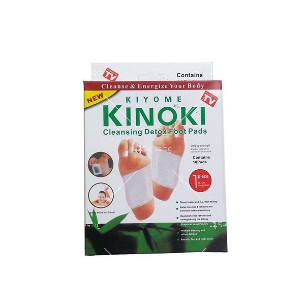 Kinoki Detox Pads Пластири за детоксикация TV195
