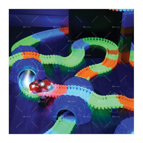 Magic Tracks Детска светеща писта 220 части WJ31 5