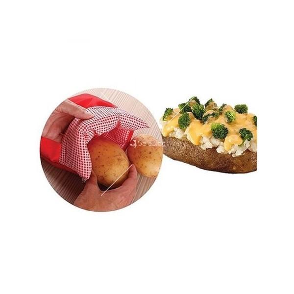 Джоб за приготвяне на картофи Potato Express в микровълнова фурна TV416 1