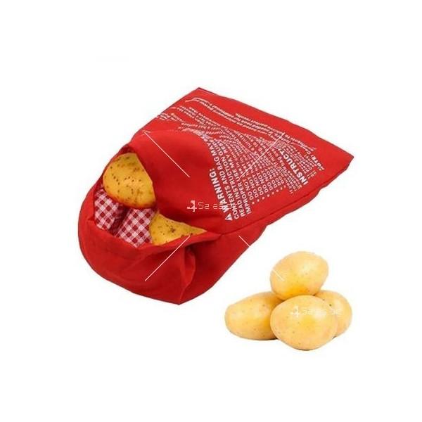 Джоб за приготвяне на картофи Potato Express в микровълнова фурна TV416 2