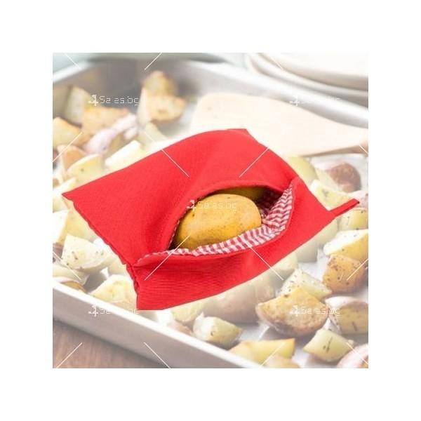 Джоб за приготвяне на картофи Potato Express в микровълнова фурна TV416 9