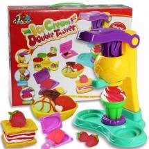 Детска машина за сладолед с пластелин