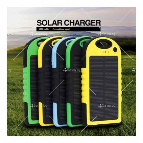 Solar Charger Водоустойчиво соларно зарядно 5000m TV160Ah