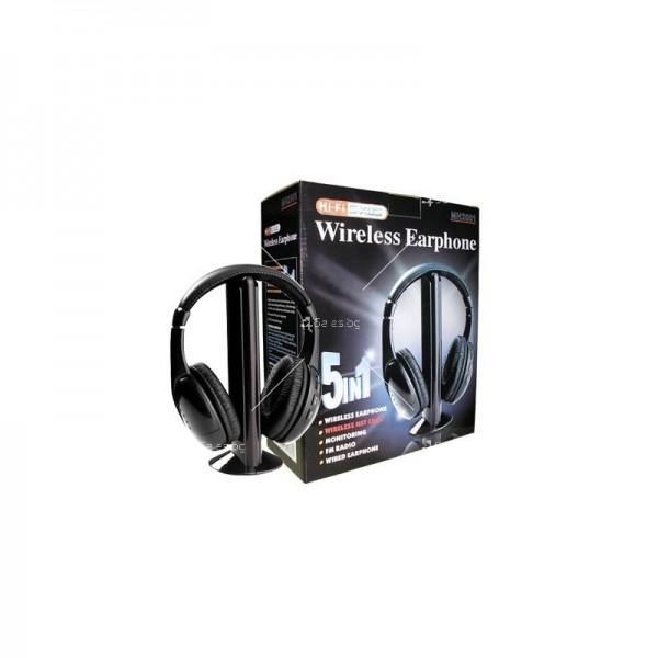 Безжични многофункционални слушалки 5в1 1