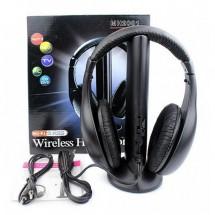 Безжични многофункционални слушалки 5в1
