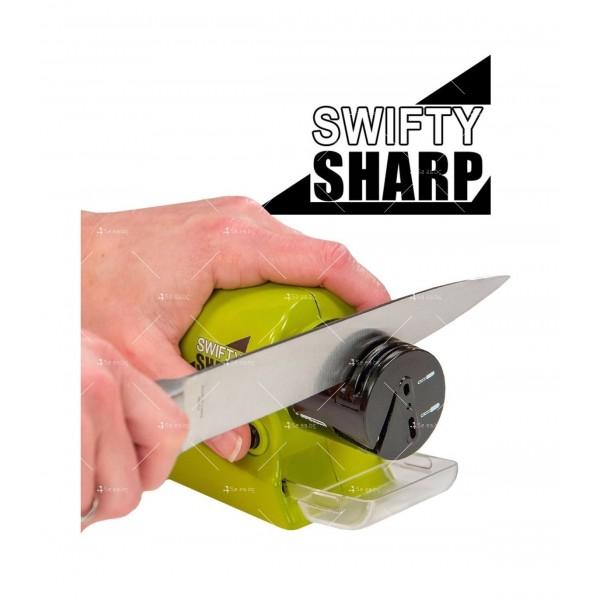 Многофункционално електрическо точило Swifty Sharp TV162 6