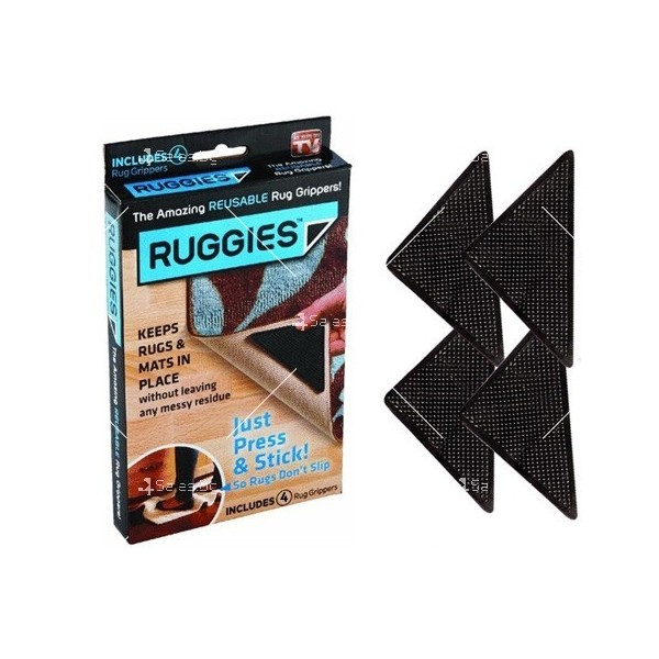 Антиплъзгащи силиконови подложки за килими Ruggies TV366 1