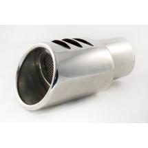 Алуминиев накрайник за ауспух с диаметър 6 см