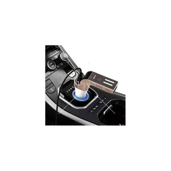 Bluetooth хендсфрий трансмитер и зарядно за кола HF43 2