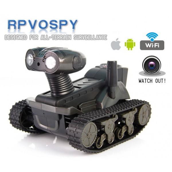 Rovospy LT-728 ET запис в реално време контрол от смартфон WIFI RC кола с камера