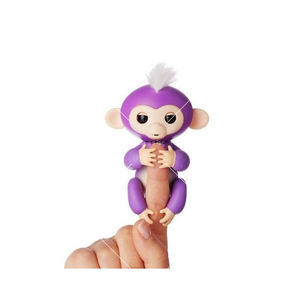 Интерактивна играчка маймунка Fingerlings 4