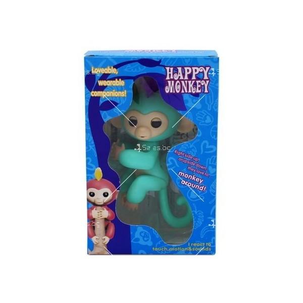 Интерактивна играчка маймунка Fingerlings 9