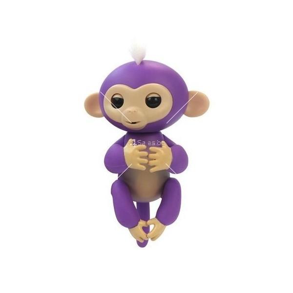 Интерактивна играчка маймунка Fingerlings 10