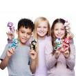 Интерактивна играчка маймунка Fingerlings 11