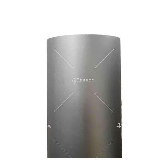 Фолио подходящо за всякакви повърхности сив мат с ширина 127 см.