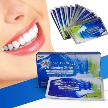 Избелващи ленти за зъби Advanced Teeth Whitening Strips TV268
