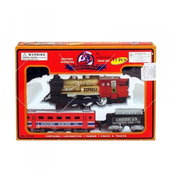 Влакче на релси с пушек Union Express 1