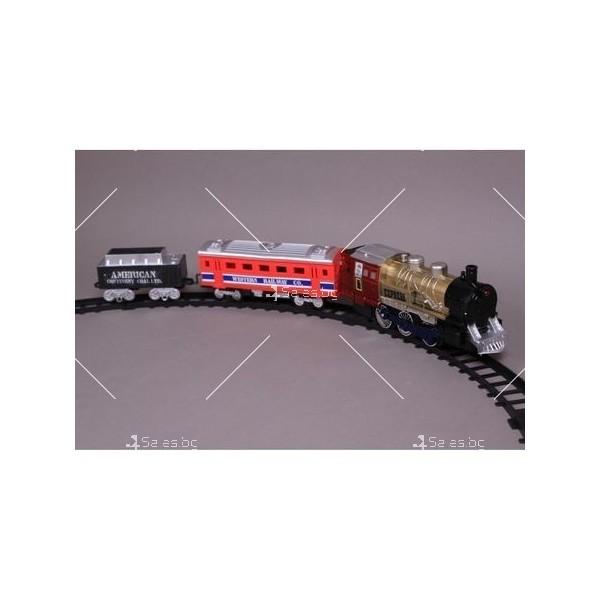 Влакче на релси с пушек Union Express 2