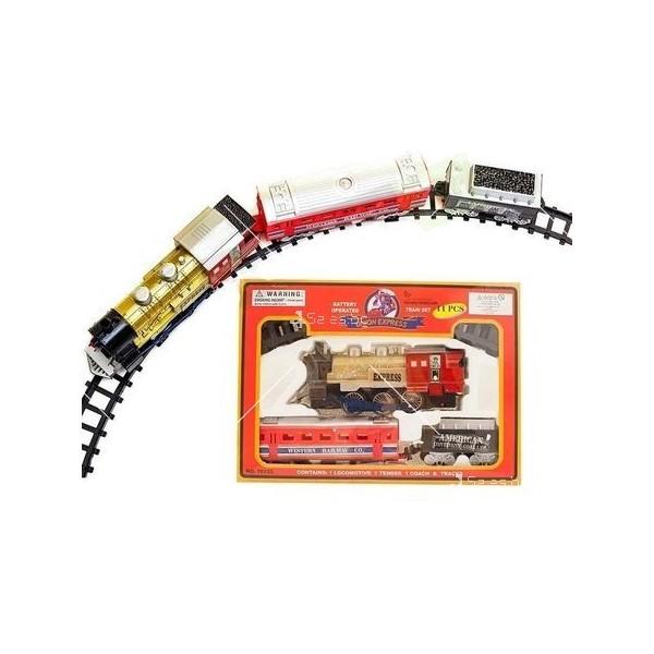 Влакче на релси с пушек Union Express