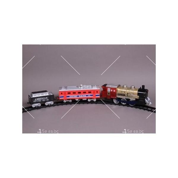 Влакче на релси с пушек Union Express 6