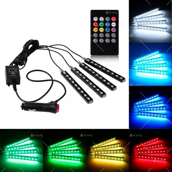 LED осветление за автомобил - интериорно TV368 4