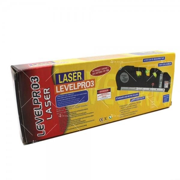 Лазерен нивелир Level PRO с проектиране на различни посоки TV211 2