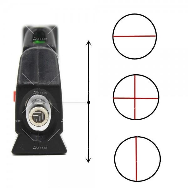 Лазерен нивелир Level PRO с проектиране на различни посоки TV211 5