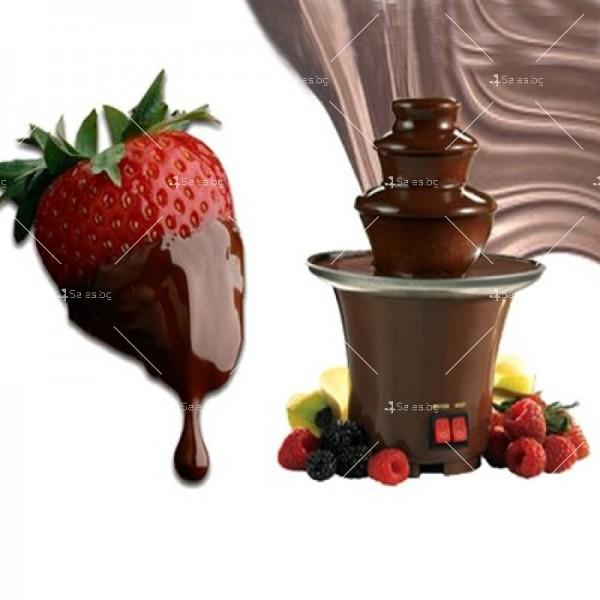 Мини фонтан за шоколадово фондю 2
