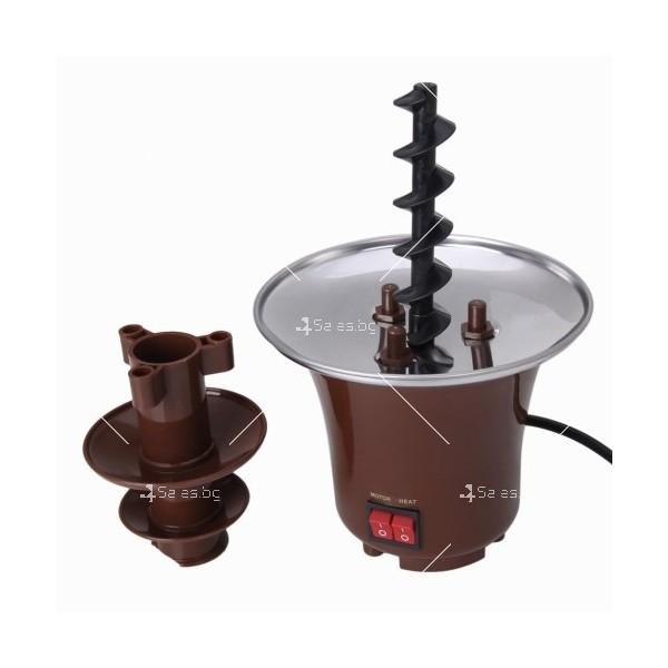 Мини фонтан за шоколадово фондю 3