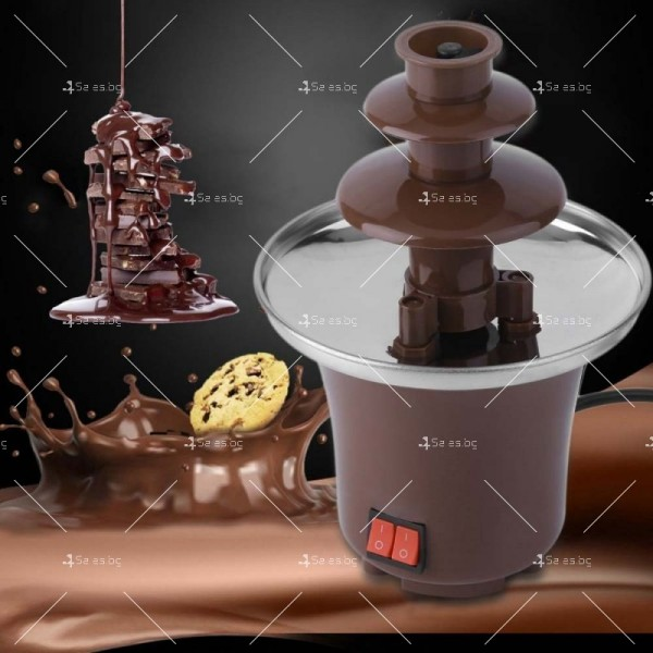 Мини фонтан за шоколадово фондю 4