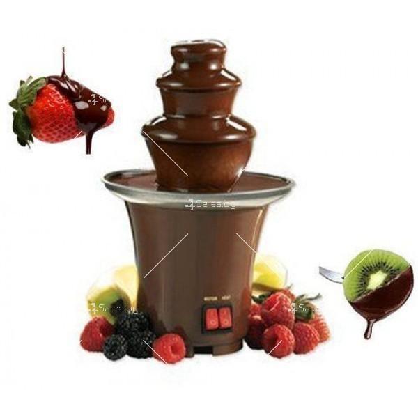 Мини фонтан за шоколадово фондю 8