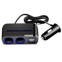 Двойно USB захранване и запалка за кола CA113